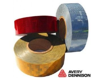 Avery Dennison Amber Conspicuity Tape 12.5M Roll
