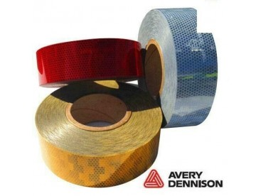 Avery Dennison Amber Conspicuity Tape 50M Roll EC104