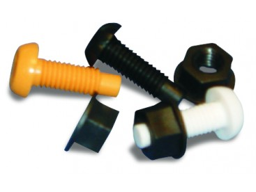 Plastic Nuts and Bolts (Pack Size 100)